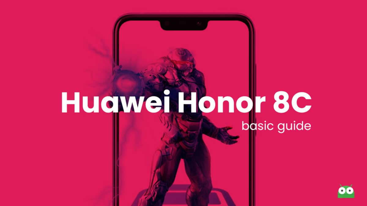 Remove Huawei Honor 8C Forgotten Lock Screen Pattern, Pin, Password, and Fingerprint