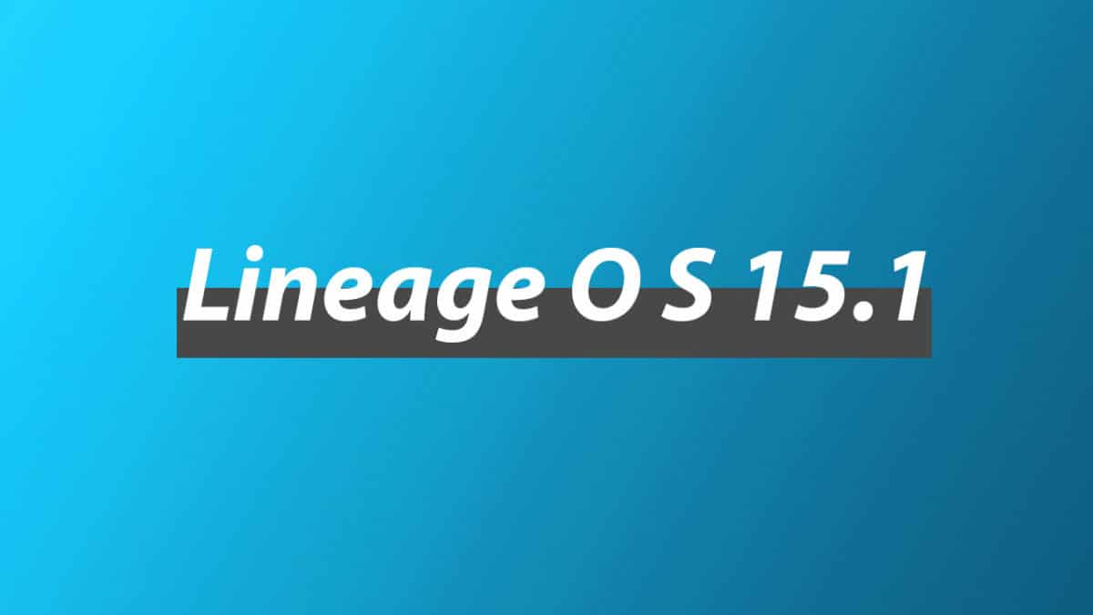 Download and Install Lineage OS 15.1 On Nokia 6 2018 | Oreo(TA-1054)