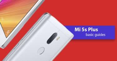 Reset Xiaomi Mi 5s Plus Network Settings