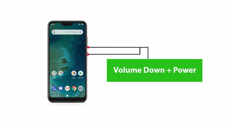 Enter into Xiaomi Mi A2 Bootloader/Fastboot Mode