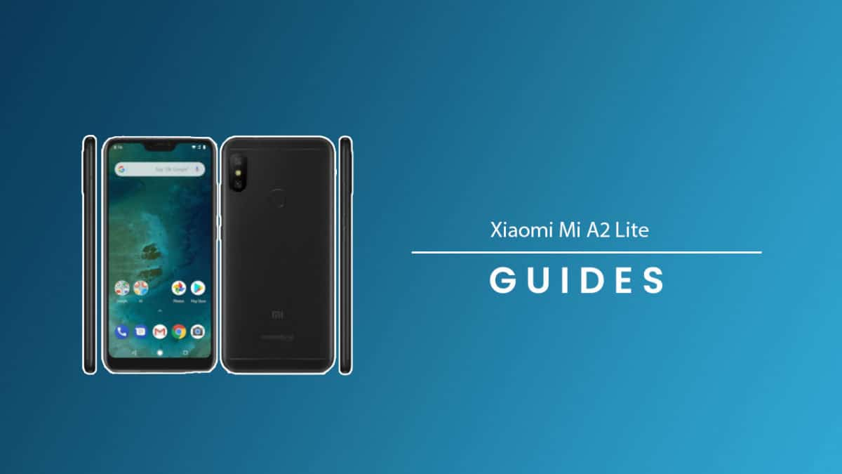 Perform Hard/Factory Data Reset On Xiaomi Mi A2 Lite