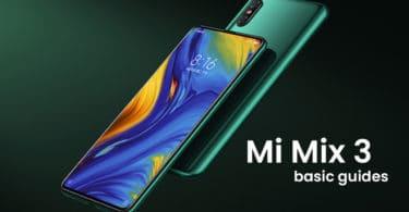 Perform Hard/Factory Data Reset On Xiaomi Mi Mix 3