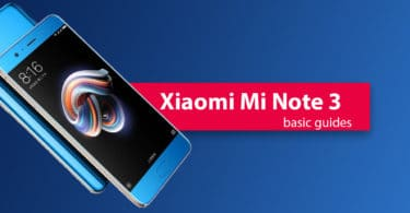 Reset Xiaomi Mi Note 3 Network Settings