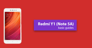 Enter Recovery Mode On Xiaomi Redmi Y1 (Redmi Note 5A/Prime)
