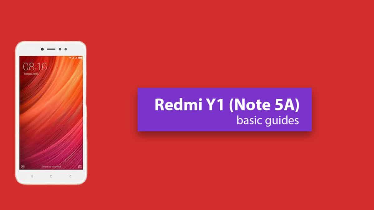 Unlock Bootloader On Xiaomi Redmi Y1 (Redmi Note 5A/Prime)