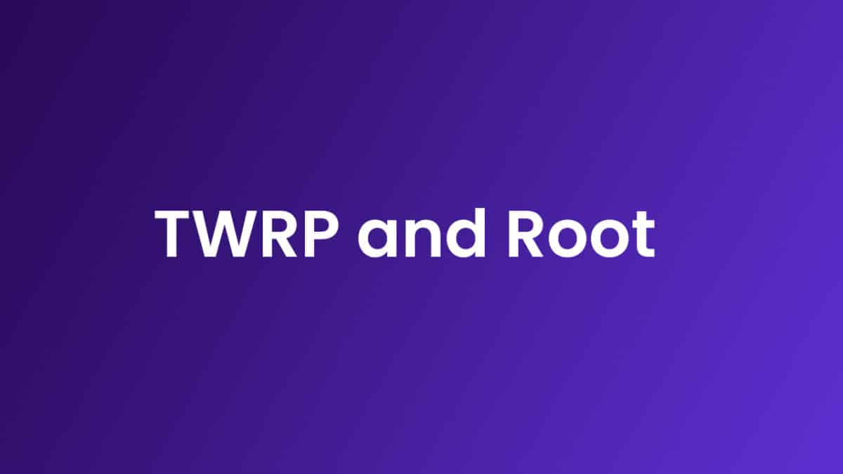 Root Cube U63GT and Install TWRP Recovery