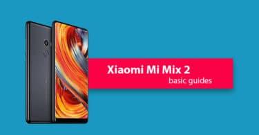 cache partition on Xiaomi Mi Mix 2