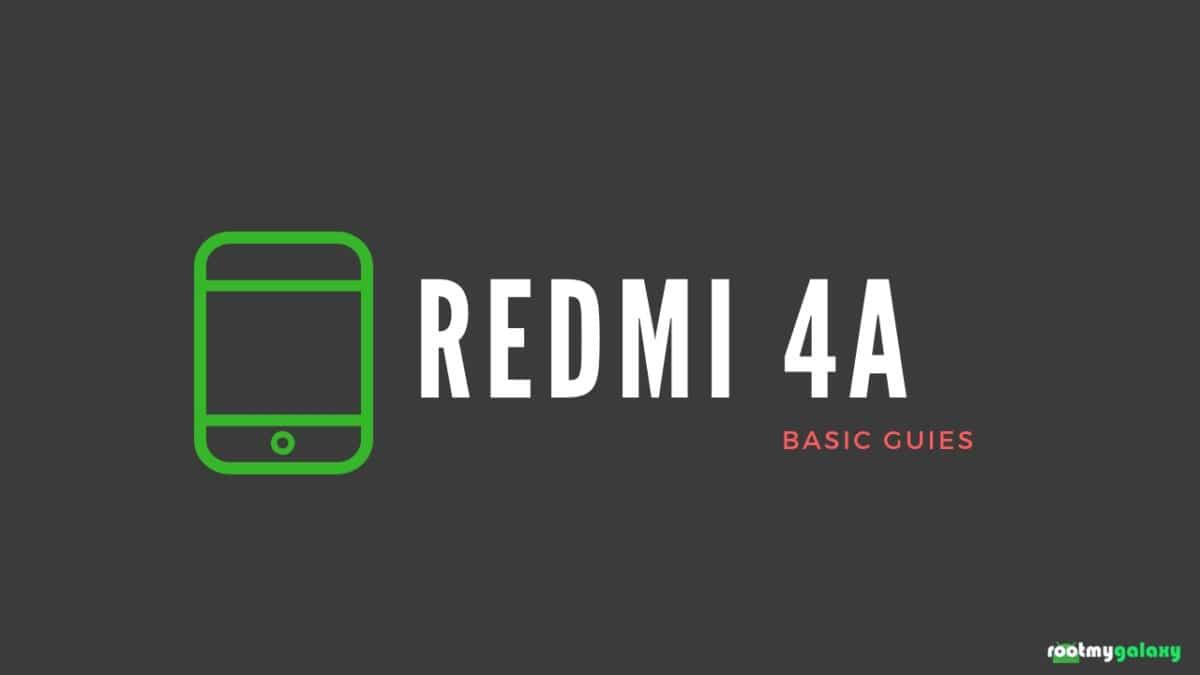 clear/wipe cache partition on Xiaomi Redmi 4A