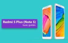 Enter Recovery Mode On Xiaomi Redmi Note 5 (Redmi 5 Plus)