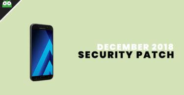 A720FXXU6CRL1: Download Galaxy A7 2017 December 2018 Security Patch Update