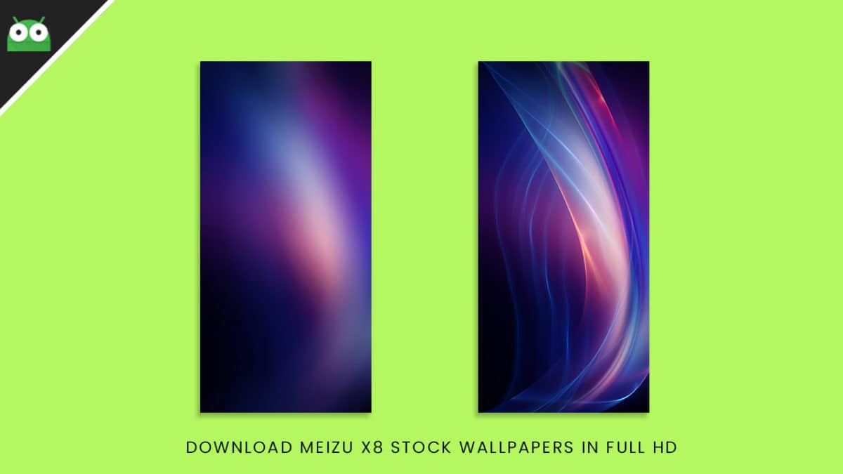 Download Meizu X8 Stock Wallpapers In Full HD
