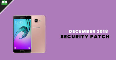 A510FXXS7CRL3: Download Galaxy A5 2016 December 2018 Security Patch Update