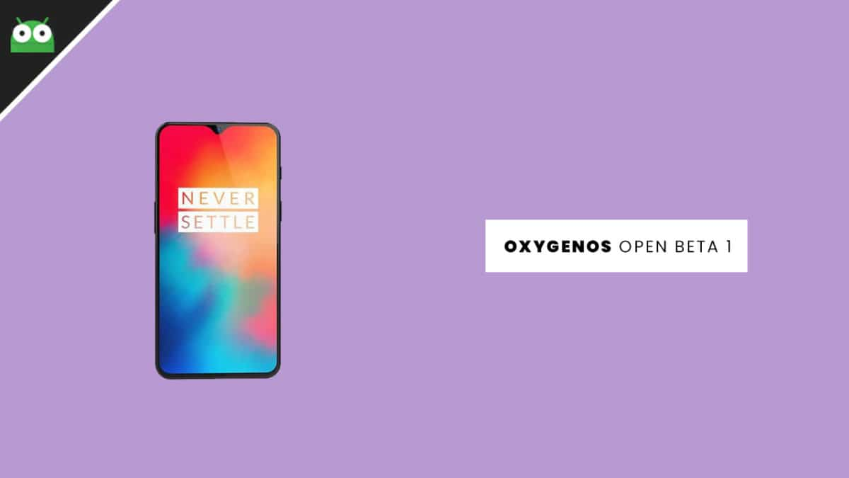 Download and Install OxygenOs Open Beta 1 Update for OnePlus 6T