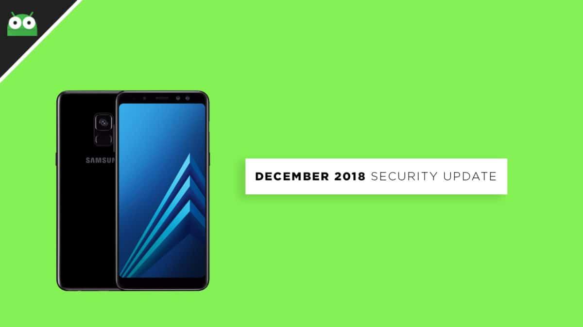 A530FXXU3BRL2: Download Galaxy A8 2018 December 2018 Security Patch Update