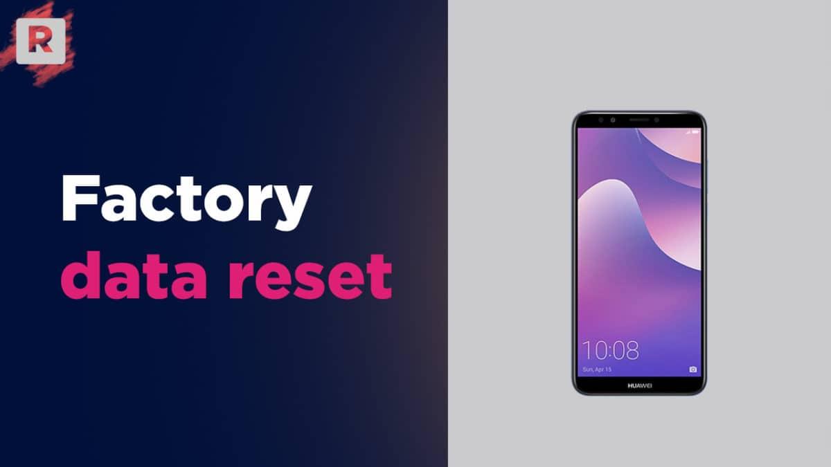 Hard reset/ Factory reset Huawei Y7 Pro (2019)