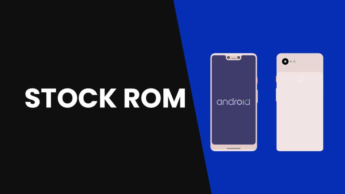Install Stock ROM on MyPhone MyA11