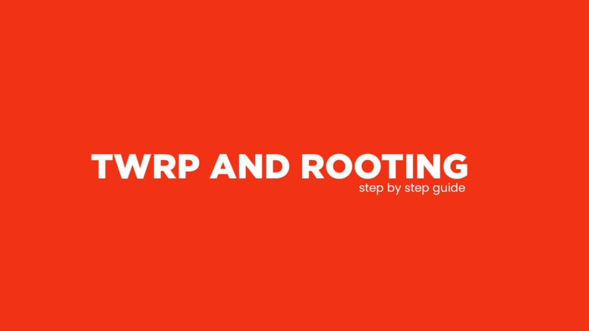 Root S-TELL M900i and Install TWRP Recovery