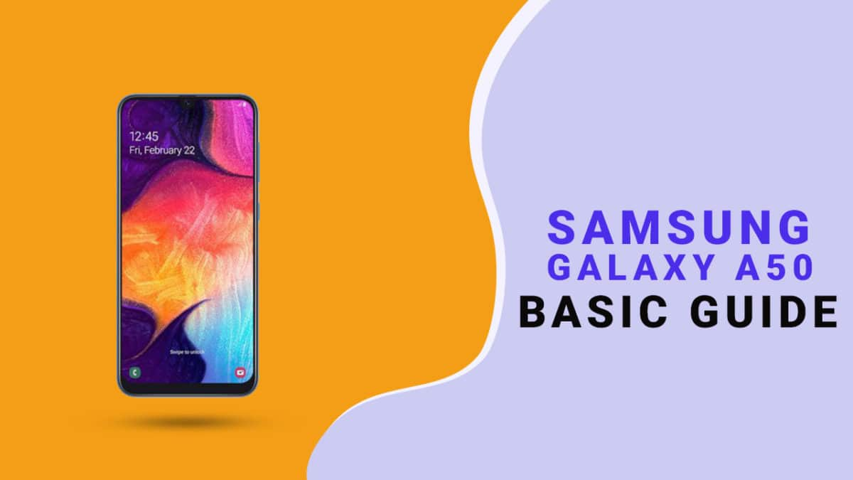 Enable Developer Option and USB Debugging On Galaxy A50