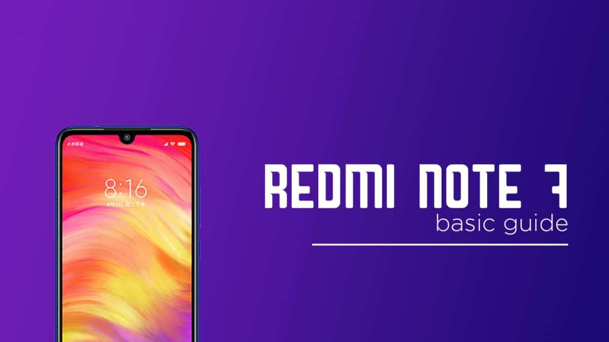 Enter Into Xiaomi Redmi Note 7 Bootloader