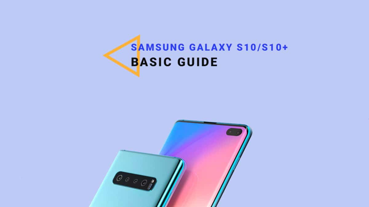 Enable Developer Option and USB Debugging On Galaxy S10/S10 Plus