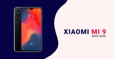 Xiaomi Mi 9 Bootloader/Fastboot Mode