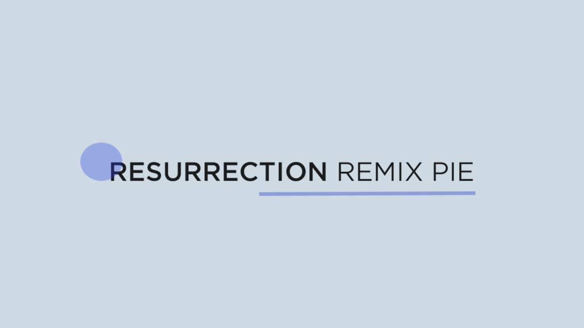 Update Motorola Moto X4 To Resurrection Remix Pie (Android 9.0 / RR 7.0)