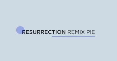 Update Xiaomi Mi 6 To Resurrection Remix Pie (Android 9.0 / RR 7.0)