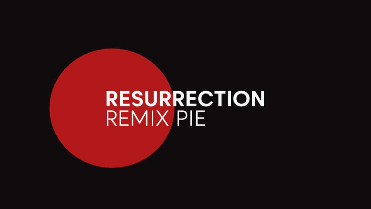 Update LG G3 To Resurrection Remix Pie (Android 9.0 / RR 7.0)