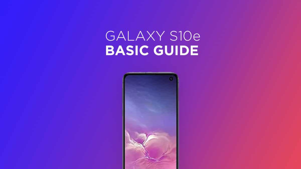 Check OTA Software Update On Samsung Galaxy S10e
