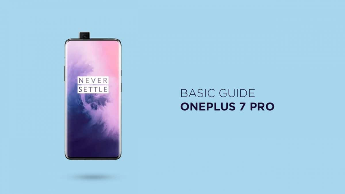 Find OnePlus 7 Pro IMEI Serial Number