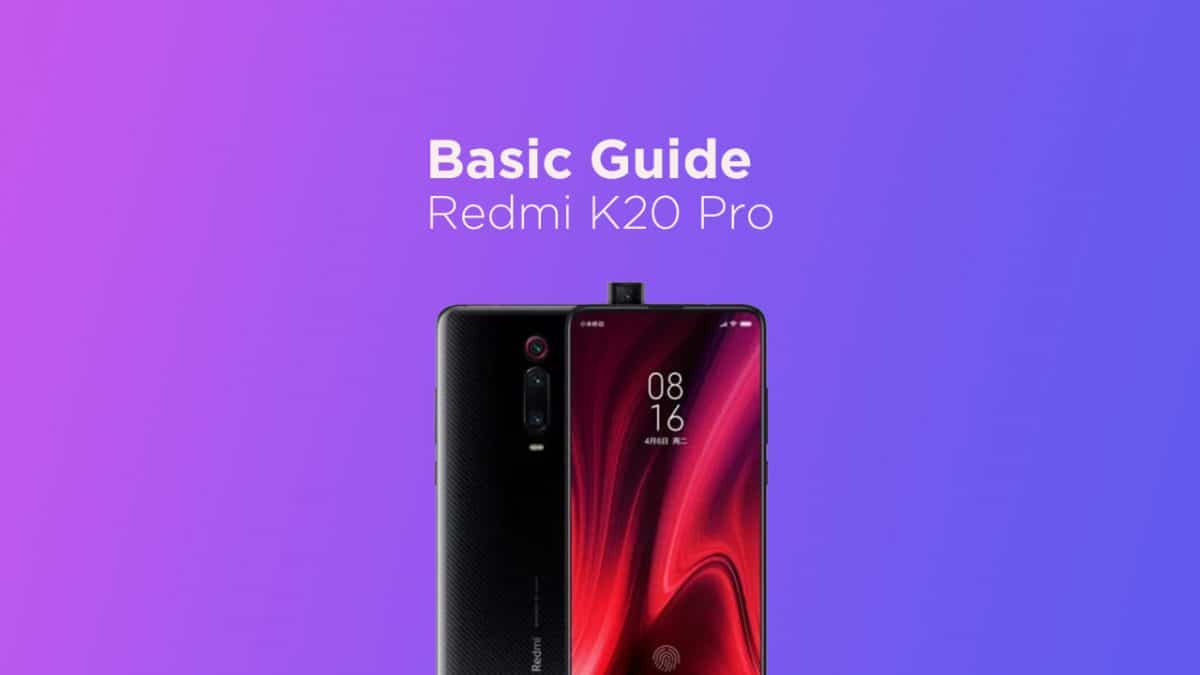 Clear Redmi K20 Pro App Data and Cache
