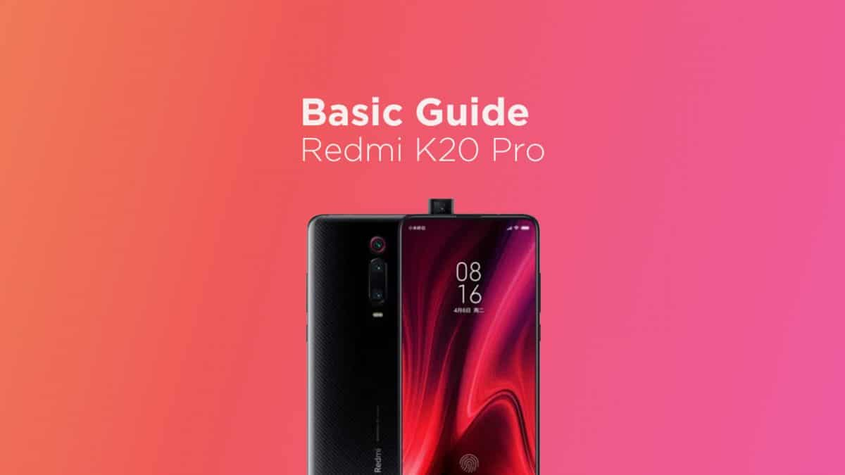 Clear cache partition on Redmi K20 Pro
