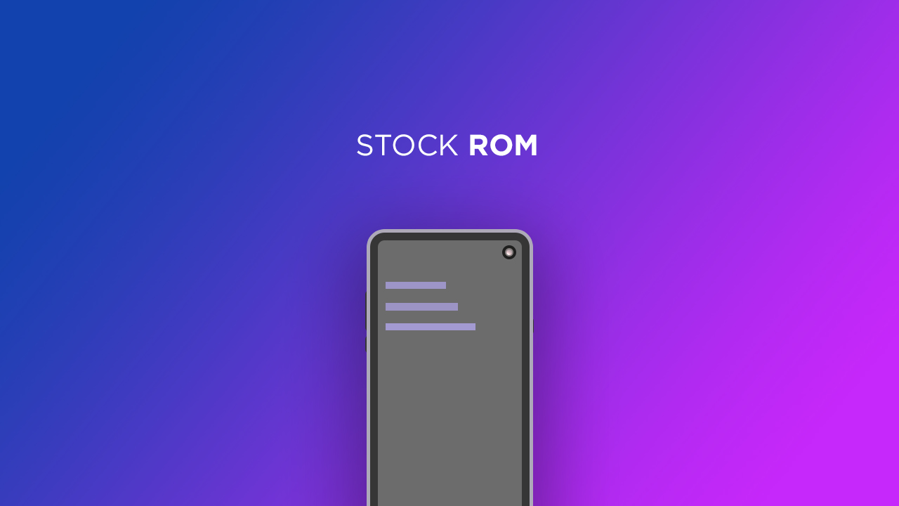 Install Stock ROM On Nanho F101 [Official Firmware]