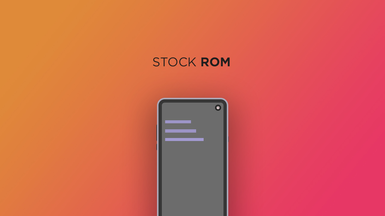 Install Stock ROM On JTY KT10837 5M (Firmware/Unbrick/Unroot)