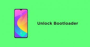Unlock Bootloader On Xiaomi Mi CC9E