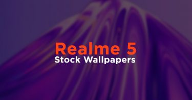 Realme 5 Stock Wallpapers