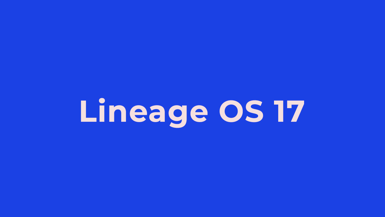 Lineage OS 17 On OnePlus 6T