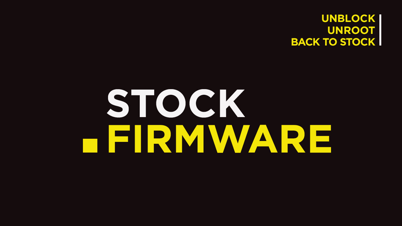 Install Stock ROM On Mlled F7 [Official Firmware]