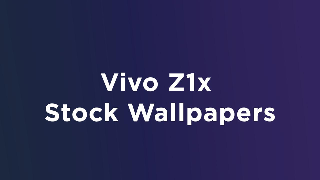 Vivo Z1x Stock Wallpapers in Full HD+ Resolution