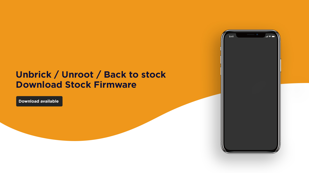 Install Stock ROM On Mlled R13 [Official Firmware]
