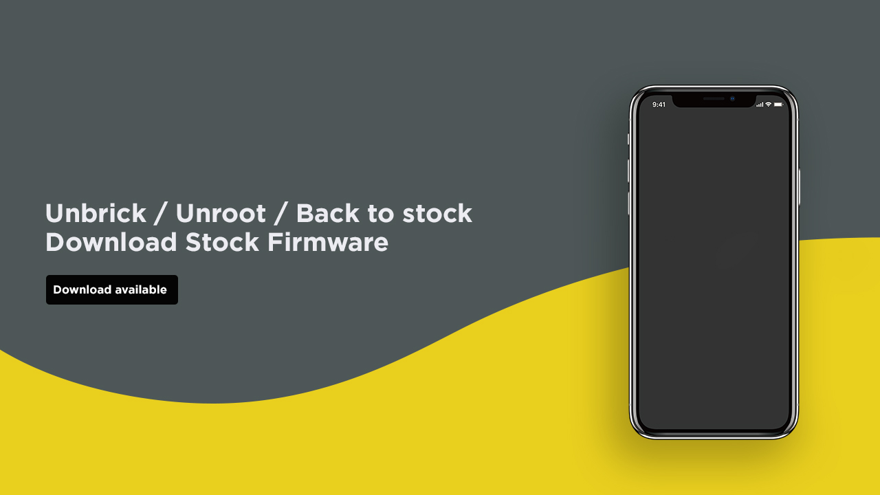 Install Stock ROM On Mlled R9 Pro [Official Firmware]