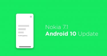 Official Android 10 Q beta for Nokia 7.1 (Download and Install)
