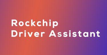 Download Rockchip Driver Assistant