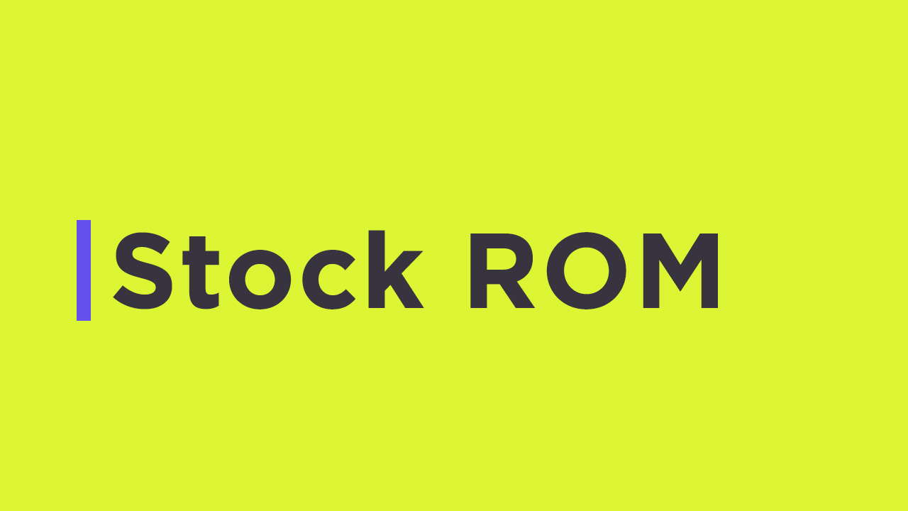 Install Stock ROM On NYX Alter (Official Firmware)
