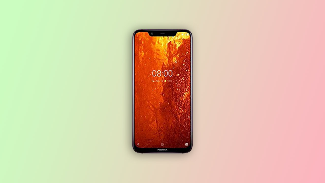 Nokia 8.1 Stock Firmware [Back to Stock ROM]