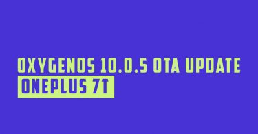 Install OxygenOS 10.0.5 OTA update for OnePlus 7T