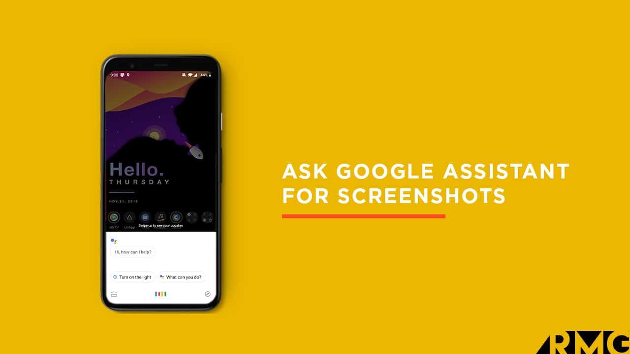 Capture Screenshots via Google Assistant On Pixel 4/4XL