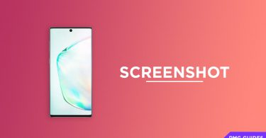 Take Screenshots On Samsung Galaxy Note 10 and Note 10+