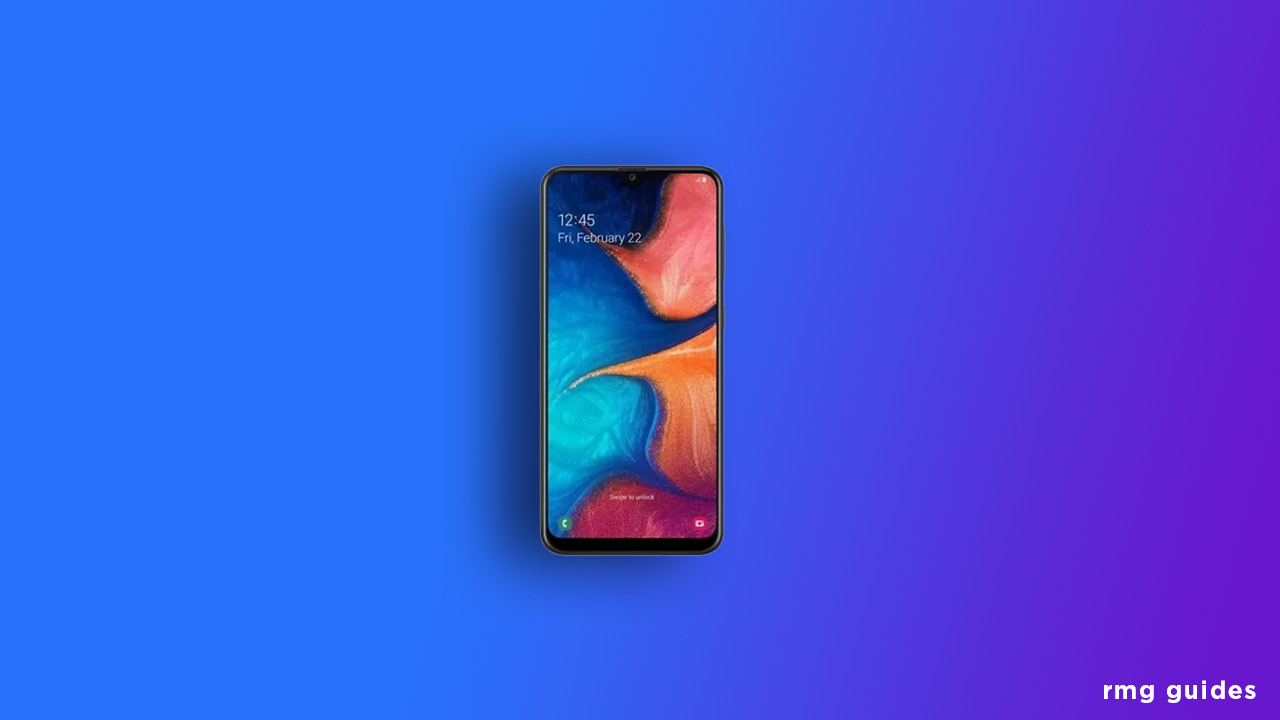 A205GUBU4ASK2: Galaxy A20 November 2019 Security Patch