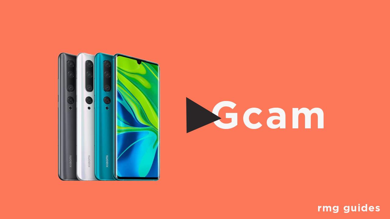 Google Camera For Xiaomi Mi Note 10